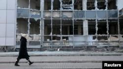 Донецк, февраль 2015 года
