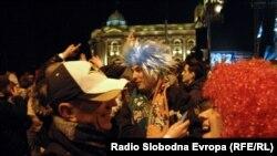 Novogodišnja noć u Beogradu