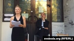 2015 год. Вальжына Морт і Альгерд Бахарэвіч