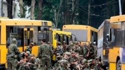 Четвертый день подряд представители Министерства обороны призывают жителей сел Кахети записаться в новые отряды военного резерва