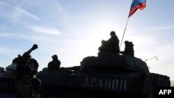 Orsýetçi separatistler, Donetsk regiony.