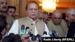 Премьер-министр Пакистана Наваз Шариф. Белуджистан, 3 июля 2013 года.