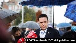 Kryetari i Lidhjes Demokratike të Kosovës Lumir Abdixhiku.