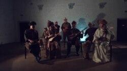 Этно-ансамбль «Ордо сахна» играет на инструментах с тысячелетней историей