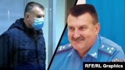 Микола Федорян, обвинувачений у державній зраді кримчанин. колаж