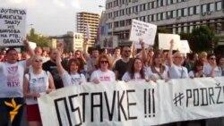 Novi Sad: Novi protest zbog smena na RTV