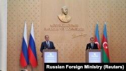 Ռուսաստանի և Ադրբեջանի ԱԳ նախարարներ Սերգեյ Լավրովը և Ջեյհուն Բայրամովը, արխիվ