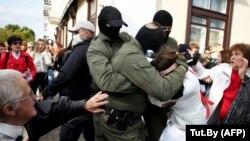 Протесты в Беларуси. Минск 12 сентября 2020 года