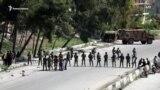 Турецко-российский военный патруль закидали камнями в Сирии