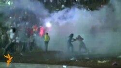 تظاهرات خشونت آمیز در برازیلیا