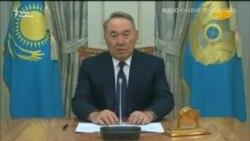 Відеозвернення Назарбаєва до народу щодо відставки – відео