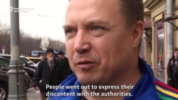 Vox Pop: Opinions On Moscow's Anticorruption Rally