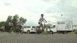 Зағиптардың Алматы-Ыстықкөл велошеруі басталды