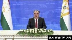 د تاجکستان ولسمشر امام علي رحمن