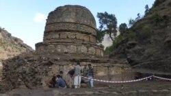 Kétezer éves buddhista kolostor került elő a tehénlegelő alól