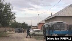 Полиция в селе Шорнак. 23 июля 2020 года.