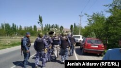 درگیری میان قرغیزستان و تاجیکستان در منطقه مرزی کوک تاش