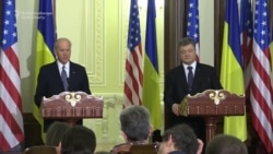 Biden Calls On Russia To Stop 'Continued Aggression' Against Ukraine