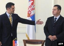 Vuk Jeremić i Ivica Dačić