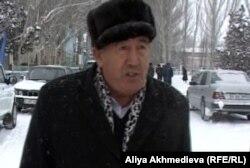Предприниматель из села Кетпен Алматинской области Юнус Юсупов. Февраль 2013 года.