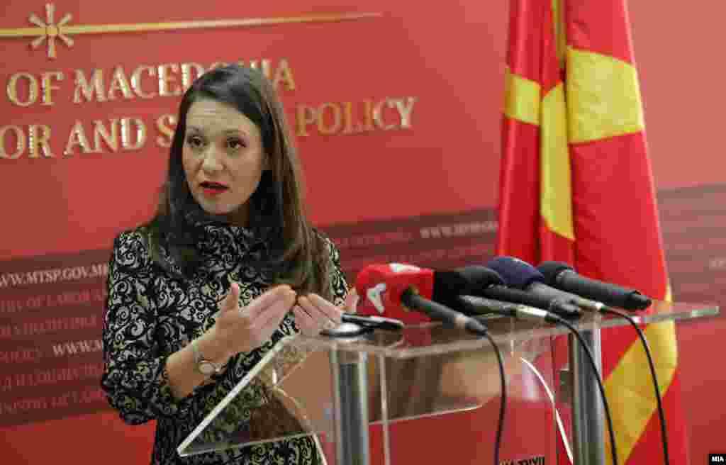МАКЕДОНИЈА - Премиерот Оливер Спасовски до Собранието достави предлог со кој се бара од пратениците да ја разрешат министерката за труд и социјална политика Рашела Мизрахи, потврдија за МИА од Владата.