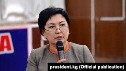 Гүлмира Кудайбердиева.