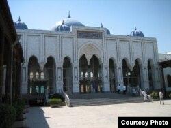 Масҷиди марказии шаҳри Хуҷанд.