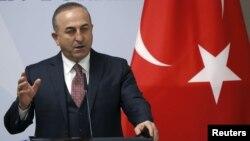 Министр иностранных дел Турции Мевлют Чавушоглу (архив)