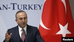 Глава турецкого МИД Мевлют Чавушоглу.