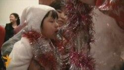 Новогодний вечер для детей-инвалидов
