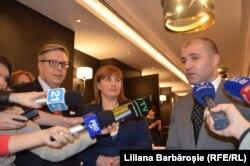Pirkka Tapiola, Liliana Palihovici și Vladimir Cebotari