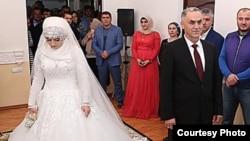 Весілля Хеди Гойлабієвої з Нажудом Гучіговим