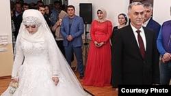 Свадьба Хеды (Луизы) Гойлабиевой и Нажуда Гучигова