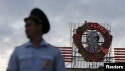 Сотрудник полиции в Волгограде. Иллюстративное фото.