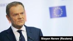 Претседателот на Европски совет, Доналд Туск