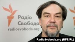 Юрій Андруховича у студії Радіо Свобода
