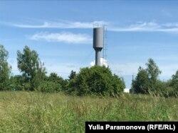 Новая водонапорная башня, которая не работает