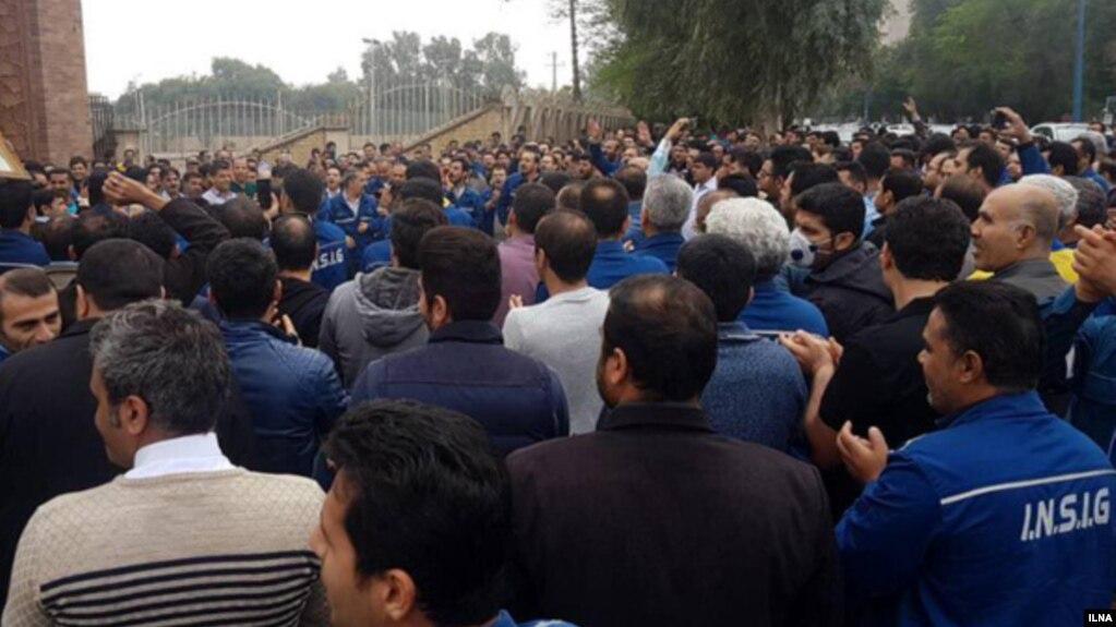 صدور حکم جلب برای ۵۰ کارگر گروه ملی صنعتی فولاد ایران