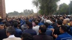 اعتراضهای کارگری در شهرهای مختلف در واکنش به پرداخت نشدن دستمزدها