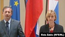 Vesna Pusić i Karl Erjavec