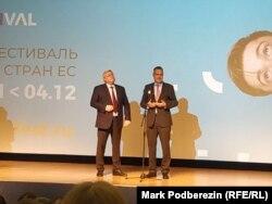 Губернатор Томской области Сергей Жвачкин и посол Европейского союза в России Маркус Эдерер