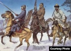 Татарскія воіны ВКЛ
