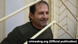 Владимир Балух в подконтрольном России Раздольненском суде Крыма, 4 августа 2017 года