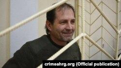 Проукраинский активист Владимир Балух в суде.