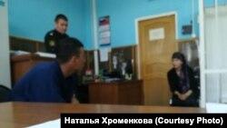 Судебное заседание по делу одного из задержанных мигрантов в Иркутске