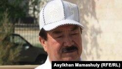 Адвокат Шамин Базаров. Ақтау, 10 мамыр 2012 жыл.