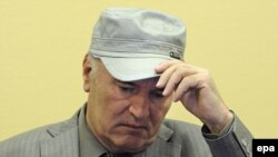 Ратко Младич в суде в Гааге