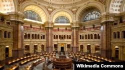 Головна читальна зала у Бібліотеці Конгресу США