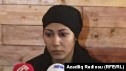 Elina Hacıyevanın anası Sevil Hüseynova