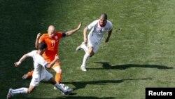 В атаке сборная Нидерландов